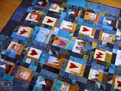 finished quilt :: ferdig quilt