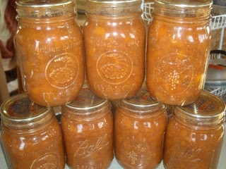 Orchard Canned Peach Chutney