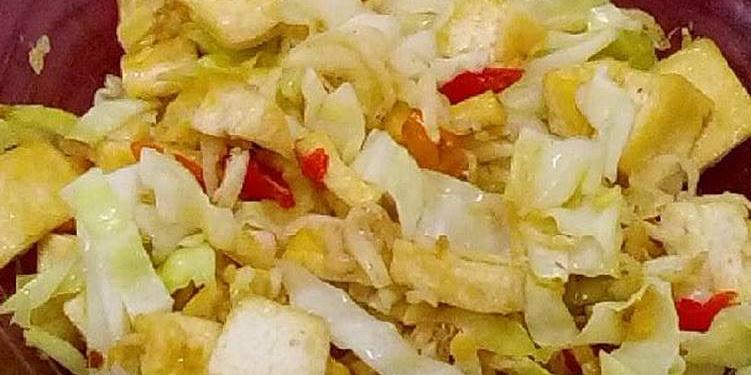 Resep Orak Arik Kol,tahu, Spesial Teri Medan Dan Rawit Oleh My Everyday Kitchen