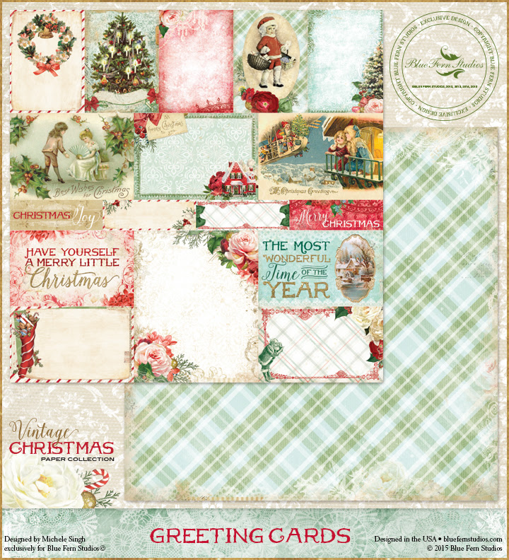 Vintage Christmas - Greeting Cards