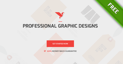 Free Modern Contest Website Template - Free PSD Files