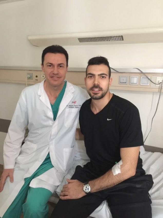 Το χειρουργείο του Θεσπρωτού Διονύση Χίσσα, που επέτρεψε στον Σλούκα να παίξει στο Final Four
