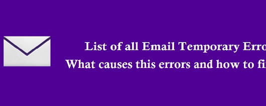 Yahoo Email Temporary Errors How to Fix it? - Number Customer Service