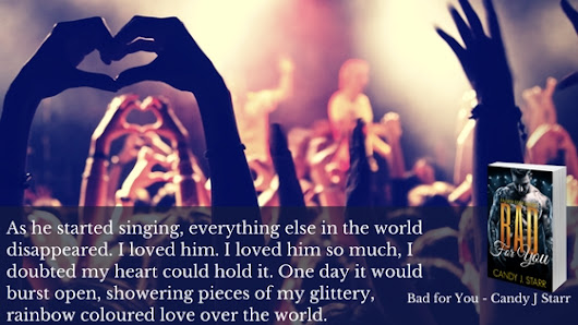 Book Blitz: Bad For You (Fallen Star Series, #4) by Candy J. Starr + Giveaway