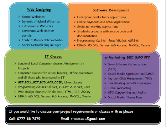 BIT BSc HND Project & Assignments [PHP/mySQL/Oracle]  Edxcel A/L O/L ICT Classes