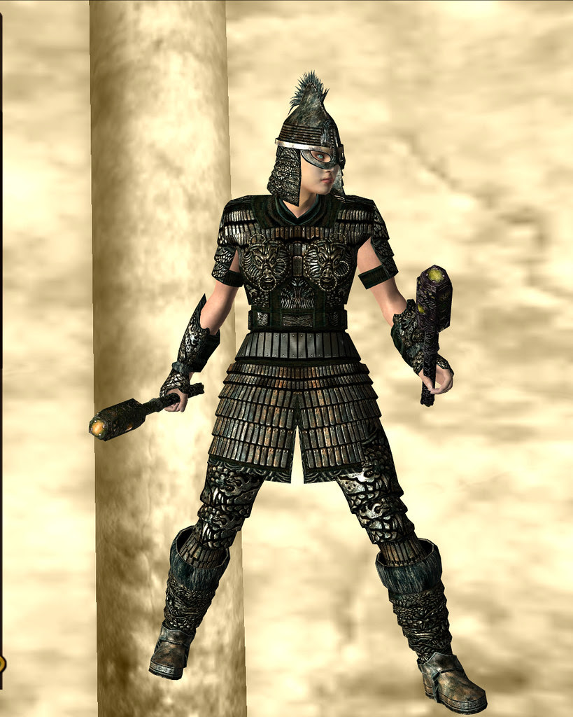 orcish armour - gold, light 01