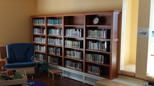 Architectural Woodwork - Library bookcases