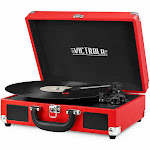 Victrola VSC-550BT Vintage Turntable - Red