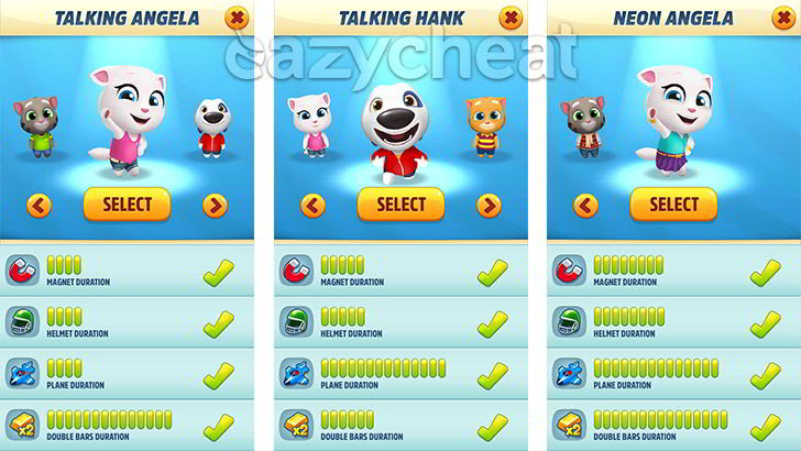 Talking Tom Gold Run v1.0.12.892 Cheats