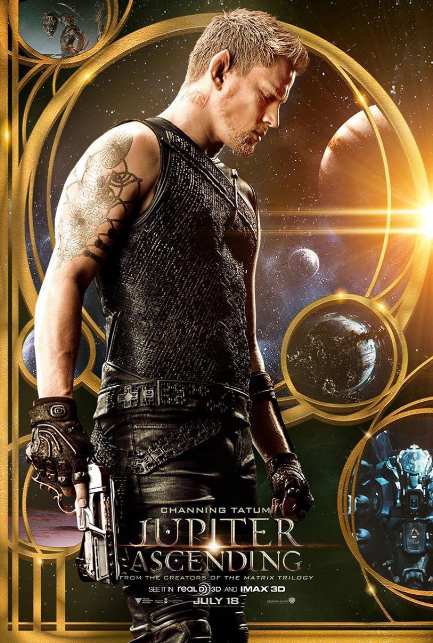 Jupiter Ascending (2014) Movie Trailer, Release Date, Cast, Plot, Poster, Channing Tatum, Mila
