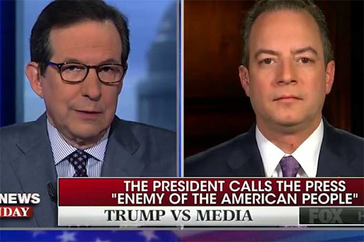 "Fox's Chris Wallace to Reince Priebus ""You don't get to tell us what to do."""