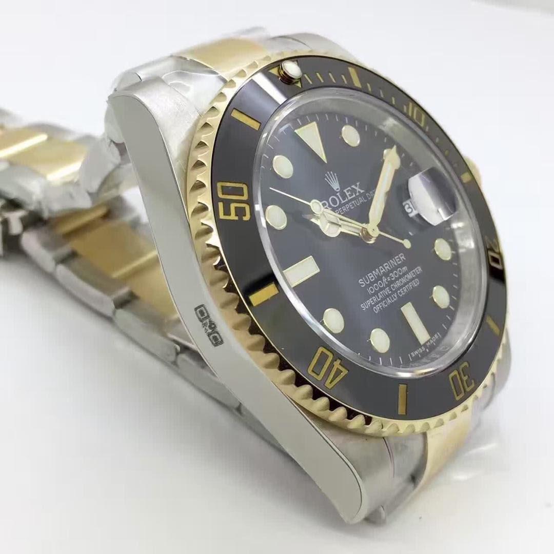 Replica Rolex 116613 Case Side
