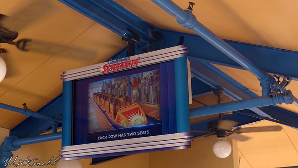 Disneyland Resort, Disney California Adventure, California Screamin', Safety Video