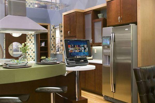 Futurismo em cozinhas de 2007
