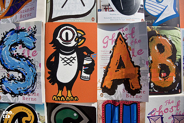 Penguin Street Art Series of Book Covers