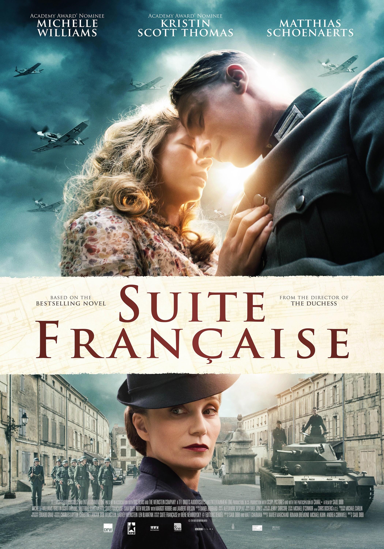 Resultado de imagen para suite francaise movie poster