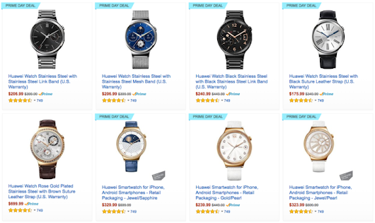 [Deal Alert] Huawei Watches are discounted up to 52% on Amazon Prime today, starting $175.99