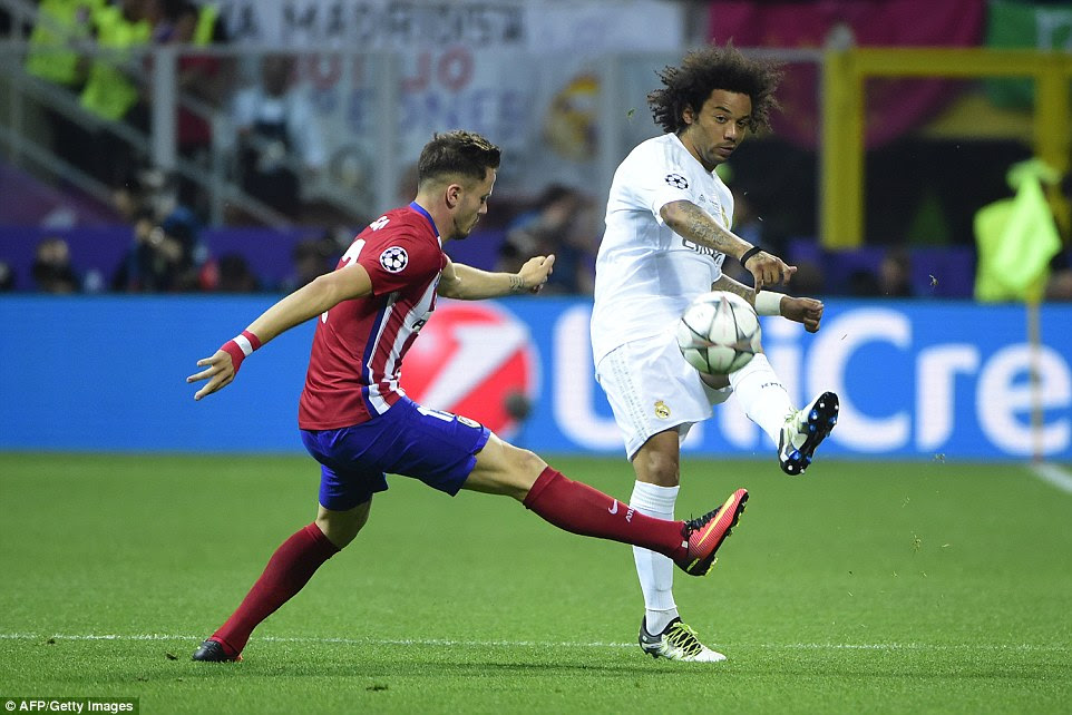 Brazilian full-back Marcelo was part of the Madrid side that beat their cross-town rivals two years ago in the 2014 Champions League final