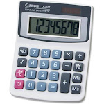 Canon LS-82Z Desktop Calculator - 8 Digits