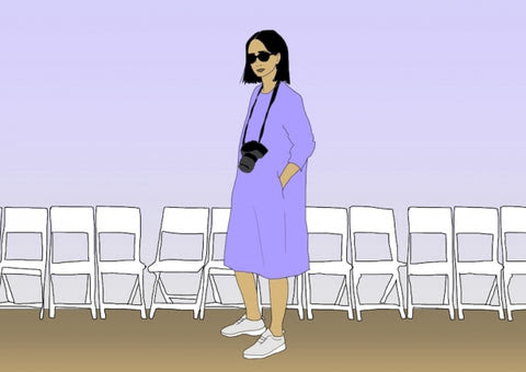 10 Steps to Fit in at a Fashion Show