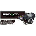 Bronco AC-12025 3500lb. Black Edition Winch with Gray Synthtic Rope