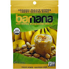 Barnana Organic Chewy Banana Bites, Peanut Butter - 3.5 oz pouch