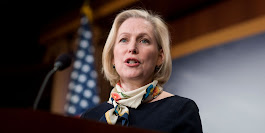 Kirsten Gillibrand's Call for Al Franken to Resign Spurs Backlash -- Senator Gillibrand Condemns Alleged Sexual Misconduct on Right and Left