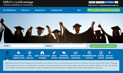 I launched the new +MBAPrepAdvantage   MBA Admissions Consultingwebsite last week. Developing this ...