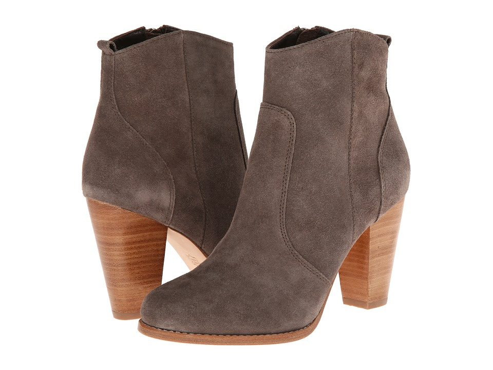Joie - Dalton (Charcoal Suede) Women's Dress Zip Boots