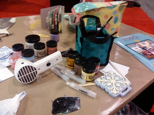 My demo table @ the Ranger booth