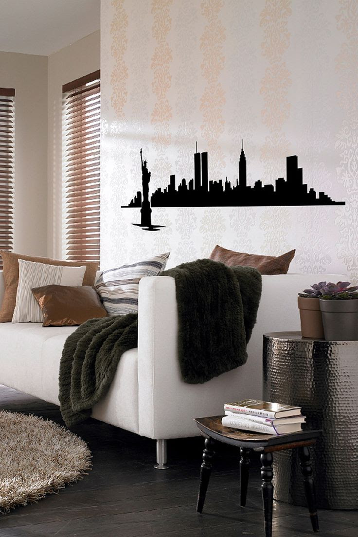 New York Skyline Wall Decal on HauteLook