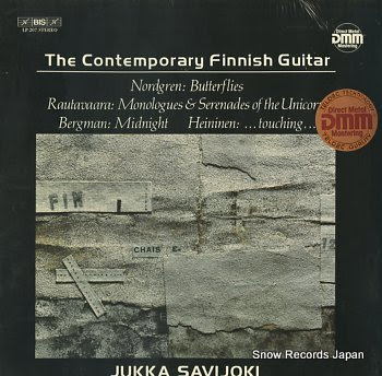 SAVIJOKI, JUKKA contemporary finnish guitar