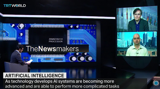 Nikola Danaylov on TRT World News: Is the Singularity Near?