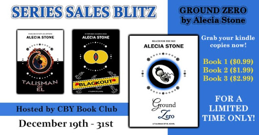 Series Sales Blitz & Giveaway - T.O.E. Trilogy by Alecia Stone