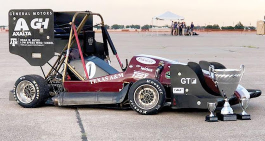 Texas A&M's Formula SAE team takes checkered flag again