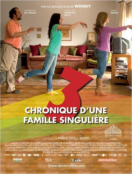 3, Chronique d'une famille singulière : affiche