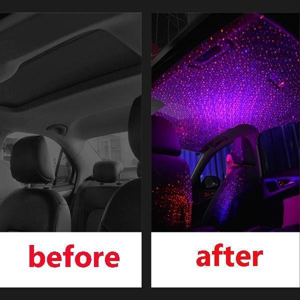 Car Interior Roof Lights