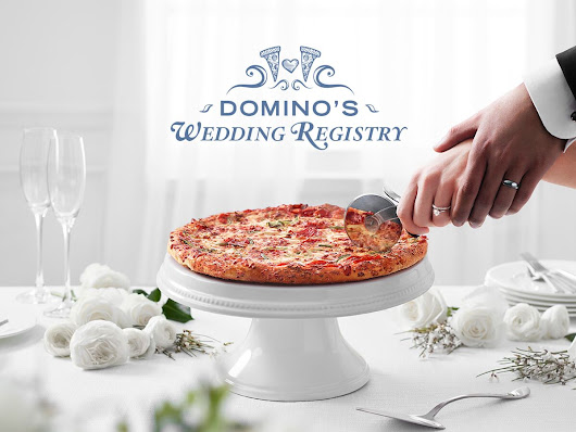Stop Everything—Domino's Now Has a Pizza Wedding Registry
