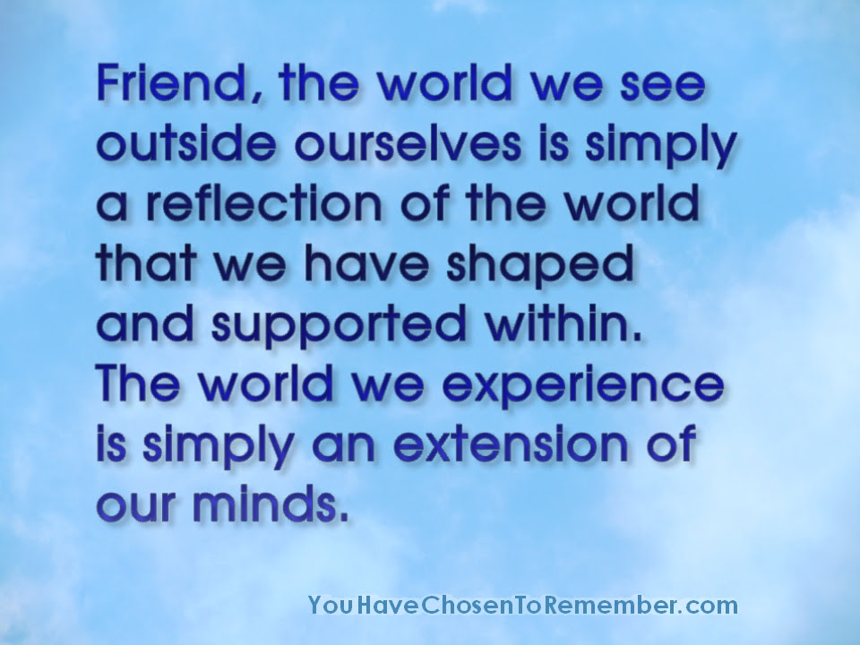Reflection Quotes Inspiration. QuotesGram