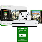 Microsoft Xbox One S 1 TB Console w/ Tom Clancy's The Division 2 Bundle + Xbox Live Bundle