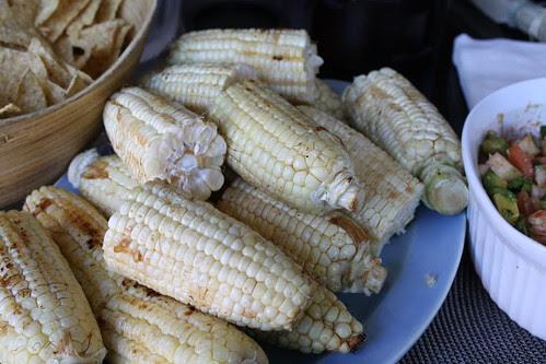 Ponzu Grilled Corn