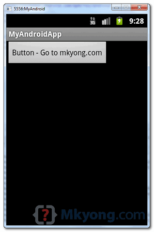 Membuat aplikasi Android Tombol Button Sedehana
