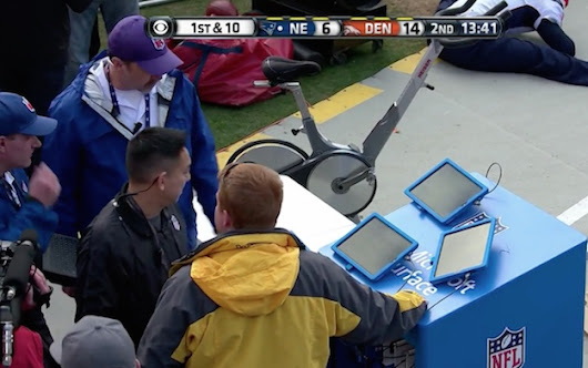 Microsoft Surface tablets 'fail' spectacularly during live NFL broadcast