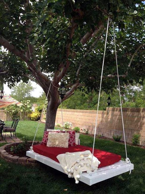 DIY Tree Swing Ideas For More Family Time (22)