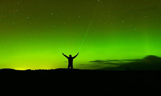 "The Guardian  on Twitter: ""Have you seen the northern lights in the UK? Share your photos  """