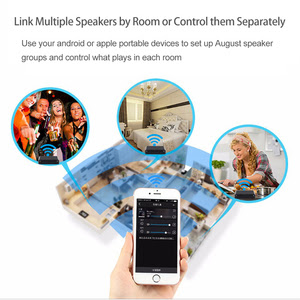 Portable Audio 2019 Best Price The August Wr320 Wireless Wifi Spotify Airplay Receiver For Wired Speakers Multi Room Wifi Music Receiver Adapter With Optical Cable