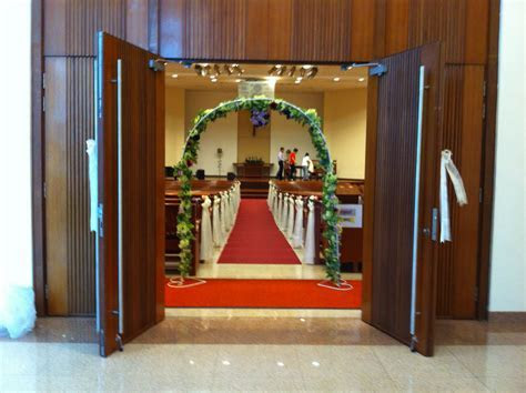 Singapore Thomson Road Baptist Church   Church Wedding