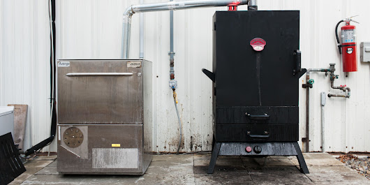 This Badass Cold Smoker Used To Be a Dishwasher