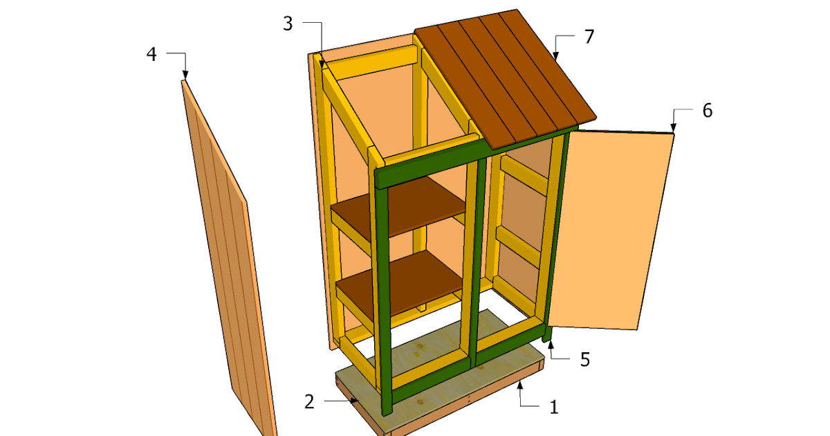 Neak three sided wood shed plans for Three sided shed plans