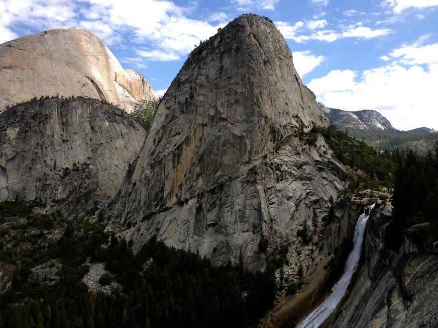 En Route To Half Dome John Muir Trail, Yosemite, California